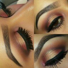 0be40abc933 eye makeup Beautiful Eye Makeup, Love Makeup, Makeup Ideas, Makeup Tips,  Neutral