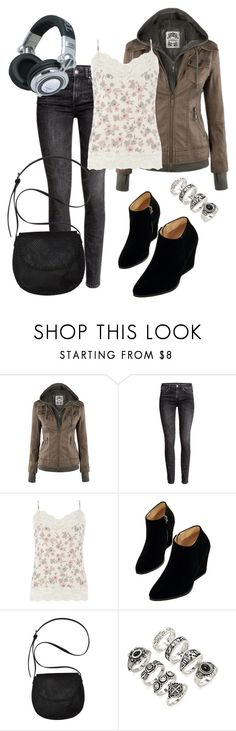 """young adult"" by deliag ❤ liked on Polyvore featuring H&M, Dorothy Perkins, WithChic, Billabong, Forever 21 and Panasonic"