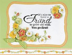 Handmade Cards For Best Friends Forever. Friend Birthday Cards