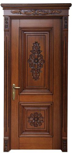 Doors trendy main door design carving How Parents Can Affect Their Children's Weight Recent stud Wooden Front Door Design, Double Door Design, Door Gate Design, Wooden Front Doors, Architecture Bauhaus, Le Corbusier Architecture, Pooja Room Door Design, Door Design Interior, Design Interiors