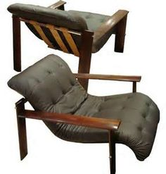Beau Pair Of Club Chairs By Percival Lafer