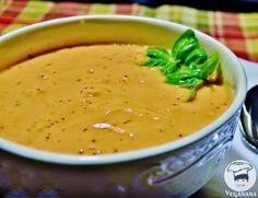Sopa Crudivora de Tomates com Manjericão ~ Veganana