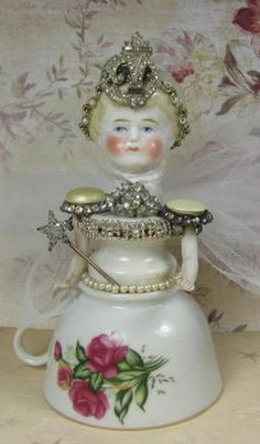 Angel Princess Assemblage Art Doll by ferrytalesgifts on Etsy, $41.00