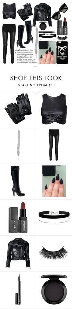 """""""Shadowhunters"""" by lillspop-xox ❤ liked on Polyvore featuring Givenchy, Smashbox, Miss Selfridge, R13, NARS Cosmetics, MAC Cosmetics and Yves Saint Laurent"""