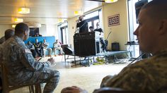 On Monday, the USO teamed up with Jeep to bring the band X Ambassadors to Fort Belvoir to play a pop-up concert for service members and their families. Nearly 50 troops and their families attended the event, which was hosted at USO Warrior and Family Center at Fort Belvoir.