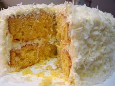 I Believe I Can Fry: Shortcut Southern Coconut Cake