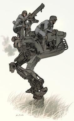 tóraidhe: moto-stride sketch — Aaron McBride