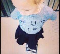 Hug Life Infant/Toddler Tee by LittleDudeNDudette on Etsy