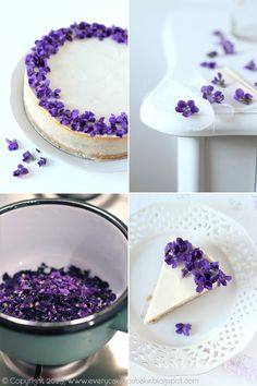 Every Cake You Bake: Violet Cheesecake