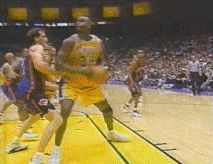 Shaq Bull Dogs opponent funny laughter cool images funny gifs humor sports basketball nba shaq gifs shaq dunking