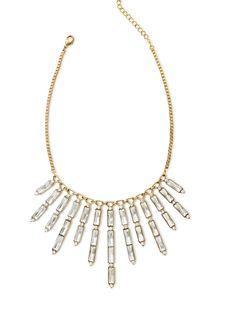 trend: art deco – nicole by @Nicole Novembrino Miller  statement necklace