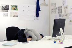 ostrich pillow! So cool
