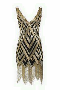Bergdorf Goodman 1920s Flapper Dress