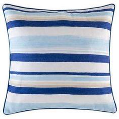 Blue Lilito Stripe Outdoor Cushion