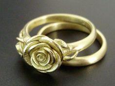 #yellow rose ring