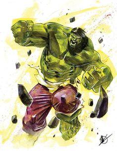 The Incredible Hulk by Matteo Scalera *