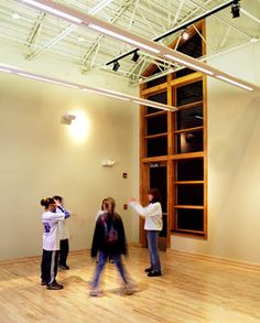 Multi-Purpose Studio space at the Sharon Lynne Wilson Center for the Arts in Brookfield, WI.