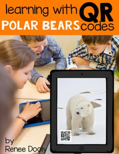 This is a pack of 6 videos about polar bears that have been attached to QR codes.  The videos have been run through Safeshare to remove any ads or sidebar video previews.  This pack includes the six QR code cards that can be laminated and used.  There is a blank response sheet to use if you choose to use it the cards. $3.00