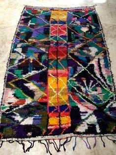Vintage Moroccan rug - Azilal Fluo