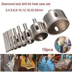 Home Improvement Glass Ceramic Hole Saw Drill
