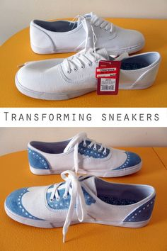 Colored shoes - 23 DIY Projects For People Who Suck At DIY