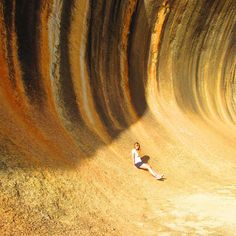 Wave Rock - Hyden, Western Australia, Australia Wave Rock, Western Australia, Antelope Canyon, Waves, Instagram Posts, Nature, Naturaleza, Ocean Waves, Nature Illustration