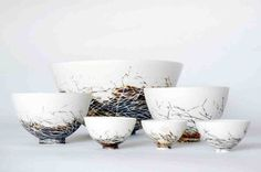 Nest bowls by Shannon Garson