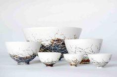 Nest bowls by Shannon Garson