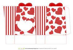 SBDScatole per san Valentino Porta cioccolatini o caramelle - S. Valentine Boxesby SweetBioDesign