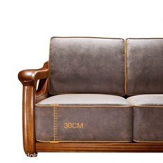 Wood Sofa, Teak Wood, Diy Sofa, Sofa Bed, Couch, Living Room Sofa Design, Living Rooms, Wooden Sofa Set Designs, Sofa Set Online