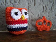 Hollandse koningsuiltje en oranje kroontje
