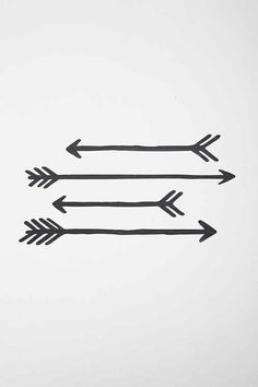 Arrow Wall Decal - Set Of 4 - Urban Outfitters