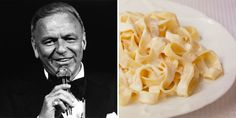 Frank Sinatra's Fettuccine Recipe Is a Perfect Dish for Pasta Lovers Fettuccine Recipes, Fettuccine Alfredo, Paula Deen, Dinner Dishes, Pasta Dishes, Main Dishes, Rice Dishes, Spaghetti Recipes, Pasta Recipes