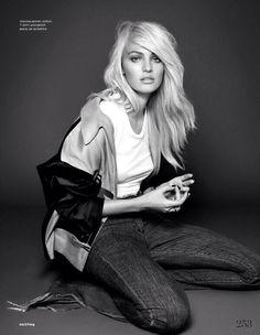 Candice Swanepoel for Elle UK December 2013