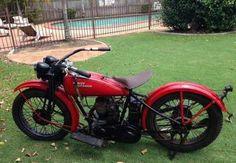 1929 Harley-Davidson Model AA, 21 cu. in ohc single cyc engine
