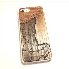 Чехол для iPhone 5 из дерева белый ясень, ручная работа, модная стрижка