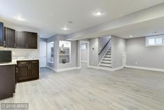 99 Lovely Basement Apartment Floor Plans Ideas - - So you made the decision to finish your unfinished basement. That means you need to start thinking exactly what luxuries you want in your new design. Basement Apartment Decor, Small Basement Apartments, Basement Remodel Diy, Apartment Floor Plans, Basement Makeover, Basement Renovations, Home Remodeling, Garage Renovation, Apartment Ideas