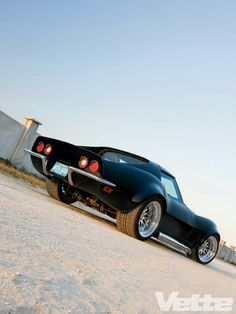 1972 Chevrolet Corvette - Race Looks, LS-Powered Street Shark