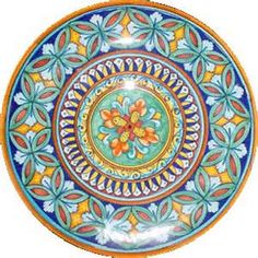 A beautiful Italian ceramic platter to take back home as a souvenier.