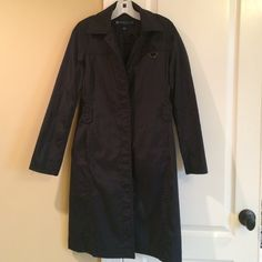 Black raincoat Kenneth Cole Reaction black raincoat . Like new condition, only worn a couple times . Kenneth Cole Reaction Jackets & Coats Trench Coats