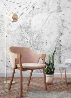 marmore + rosa + madeira