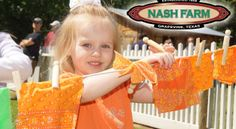 Nash Farm June 2014 calendar--Dairy Day--Milk a cow