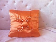 Here is the video shows how to do a nice and beautiful lattice design for cushion,bedspread,dress etc. I watched an image of a similar cushion cover on Pinte...