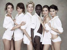 Miranda Kerr, Karolina Kurkova and more top models pose for Pirelli
