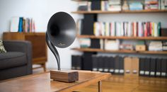Gramophone 2.0 Bluetooth Speaker | HiConsumption