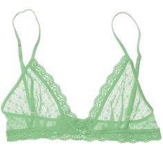 Eberjey Delirious Triangle Bralet (177695 PYG) ❤ liked on Polyvore featuring intimates, bras, underwear, lingerie, tops, women, eberjey, sexy bras, bralette lingerie and eberjey bras