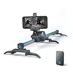 Grip Gear's Movie Maker Set - Electronic Sliding Track System with Variable Speed and Motorized 360° Panoramic Time Lapse Head compatible with Smartphones, GoPros + Digital Camera. *Click Image For More Details*.