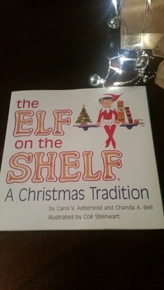 Elf on the shelf has arrived!