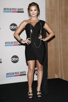 Demi Lovato is my favorite celebrity because she's an amazing singer and she's very inspirational.