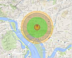 What it would look like if the Hiroshima bomb hit your city - The Washington Post